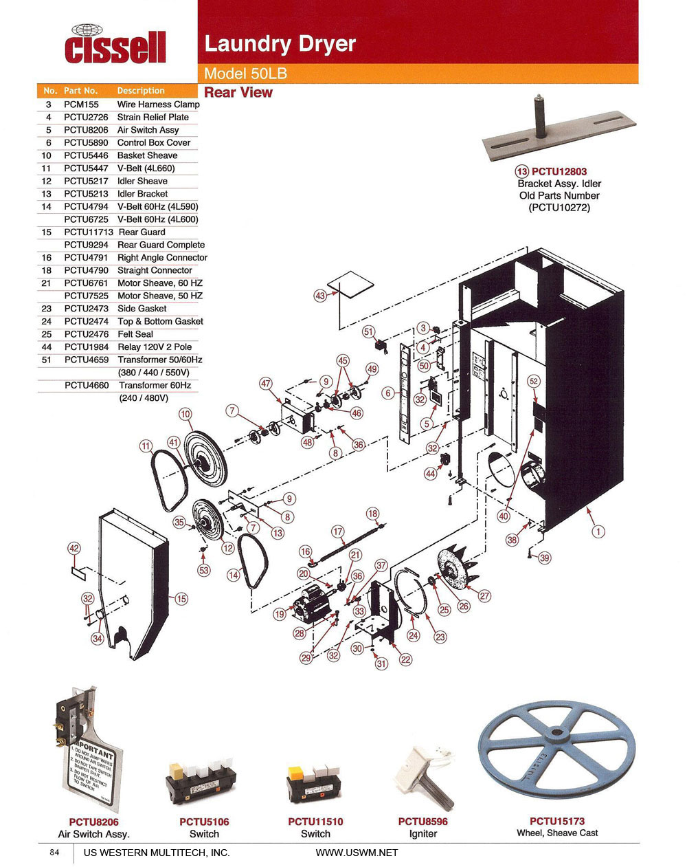 84 cissell uswm dry clean & laundry machines, presses, parts, and cissell dryer wiring diagrams at gsmx.co