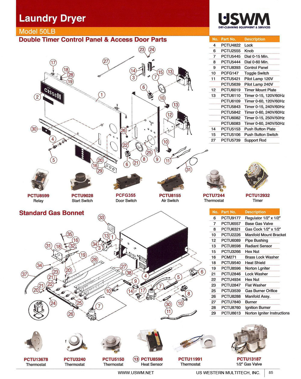 85 cissell uswm dry clean & laundry machines, presses, parts, and cissell dryer wiring diagrams at gsmx.co